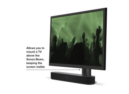Ρυθμιζόμενη βάση τηλεόρασης για το Sonos Beam προεπισκόπηση
