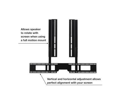 Προσάρτημα βάσης τηλεόρασης για το Sonos Playbar προεπισκόπηση