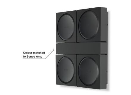 Βάση τοίχου για 4 Sonos Amp προεπισκόπηση
